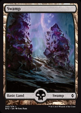 Swamp (263) - Foil (Full Art)