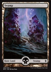 Swamp (263) - Foil - Full Art