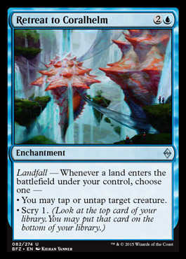 Retreat to Coralhelm - Foil