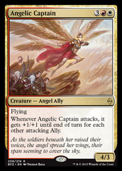 Angelic Captain - Foil on Channel Fireball