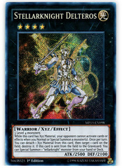 Stellarknight Delteros - MP15-EN098 - Secret Rare - 1st Edition