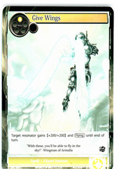 Give Wings - SKL-008 - C - 1st Edition (Foil)