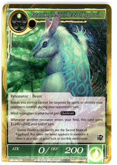 Ratatoskr, the Spirit Beast of Yggdrasil - SKL-062 - SR - 1st Edition (Foil)