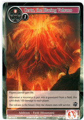 Certo, the Blazing Volcano - SKL-019 - U - 1st Edition (Foil)
