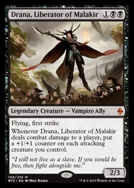 Drana, Liberator of Malakir - Foil