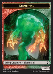 Elemental Token (Battle for Zendikar)