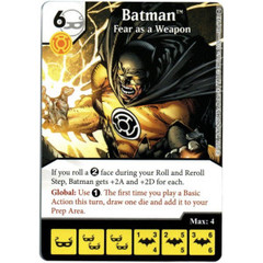 Batman - Fear as a Weapon (Die & Card Combo)