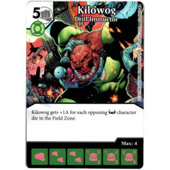 Kilowog - Drill Instructor (Die & Card Combo)