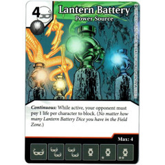 Lantern Battery - Power Source (Die & Card Combo)