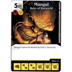 Mongul - Ruler of Warworld (Die & Card Combo)