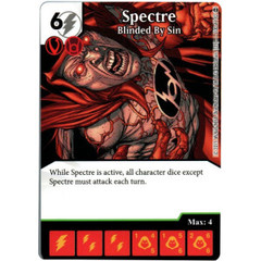 Spectre - Blinded By Sin (Die & Card Combo)