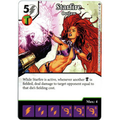 Starfire - Outlaw (Die & Card Combo)