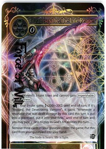 Deathscythe, the Life Reaper - SKL-096 - R - 1st Edition - Full Art