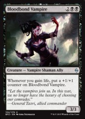 Bloodbond Vampire - Foil on Channel Fireball