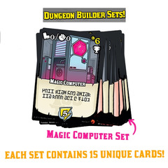 100 Swords: Set 2 - The Magic Computer Dungeon Builder Set