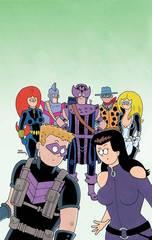 All New Hawkeye #2 Hembeck Var