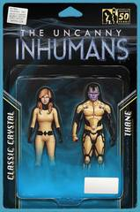 All New Inhumans #1 Action Figure Two Pack Var