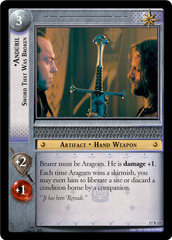 Anduril, Sword That Was Broken - 17R27