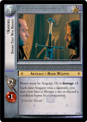Anduril, Sword That Was Broken - 17RF5 - Foil