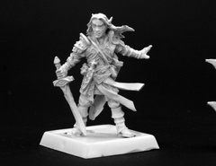 Arael, Half Elf Cleric