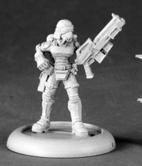 50146 - Female Nova Corp Officer