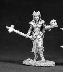 02524 - Female Dark Elf Cleric