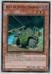 Ally of Justice Searcher - HA02-EN019 - Super Rare - 1st Edition