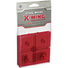 Star Wars: X-Wing Miniatures Game - Red Bases and Pegs