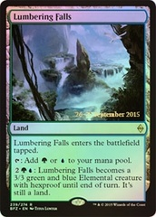 Lumbering Falls - Foil (Prerelease)