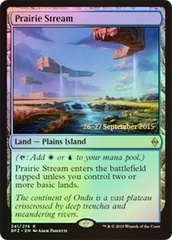 Prairie Stream (Battle for Zendikar Prerelease Foil)