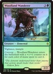 Woodland Wanderer (Battle for Zendikar Prerelease Foil)