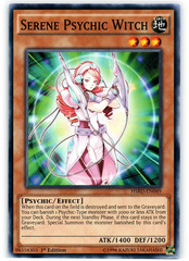 Serene Psychic Witch - HSRD-EN049 - Common - 1st Edition