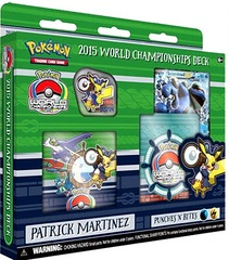Pokemon 2015 World Championships Deck - Patrick Martinez (Punches 'N' Bites)