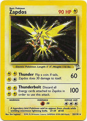Zapdos - 20/130 - Holo Rare - Unlimited Edition