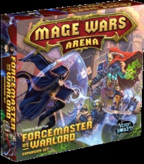 Mage Wars Arena: Force Master vs. Warlord