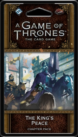 A Game of Thrones: The Card Game (Second Edition) - The Kings Peace