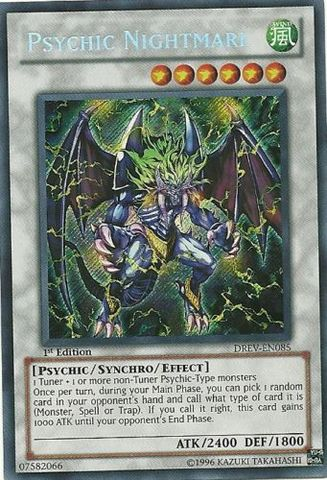 Psychic Nightmare - DREV-EN085 - Secret Rare - 1st Edition