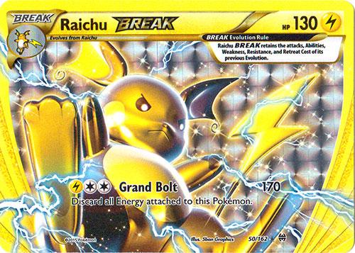 Raichu BREAK - 50/162 - Ultra Rare