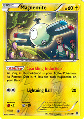Magnemite - 51/162 - Common - Reverse Holo