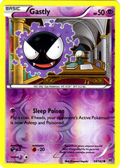 Gastly - 58/162 - Common - Reverse Holo
