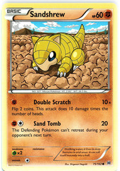 Sandshrew - 75/162 - Common
