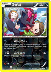 Zorua - 90/162 - Common - Reverse Holo