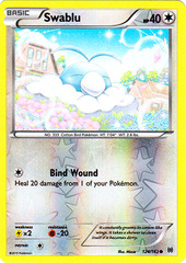 Swablu - 124/162 - Common - Reverse Holo