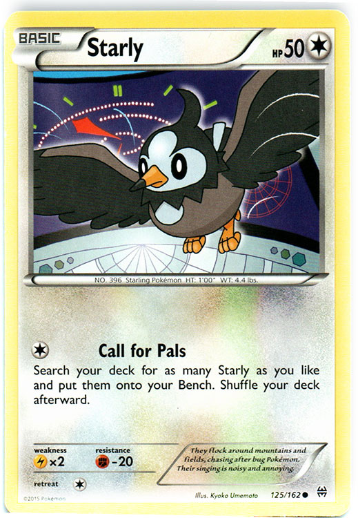 Ralts 68//162 BREAKthrough Reverse Holo Mint Pokemon Card