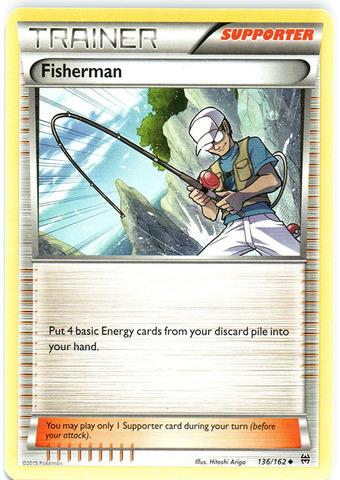 Fisherman - 136/162 - Uncommon