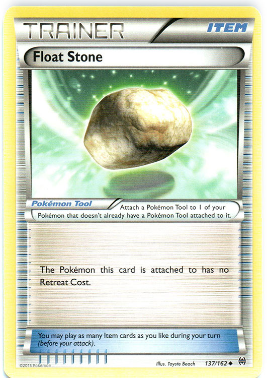 Float Stone - 137/162 - Uncommon