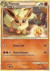 Flareon - 26/90 - Uncommon on Channel Fireball