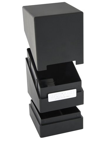 Monolith Deck Case 100+ Standard Size Black Card Game