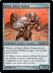 Karn, Silver Golem - Foil on Channel Fireball