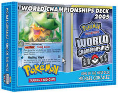 2005 World Championships Deck - Michael Gonzalez King of the West Deck